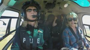 Woman of Vision: RCMP helicopter pilot Kathy Stewart