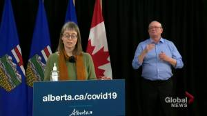 Coronavirus: Alberta records 38 deaths associated to COVID-19 on Tuesday (00:53)