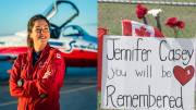 Play video: CF Snowbirds crash: Family of Capt. Jenn Casey says her personality 'could brighten anyone's day'
