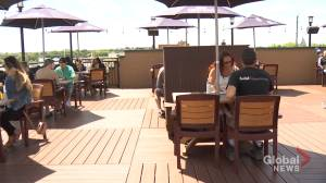 Patios open for business in Peterborough