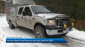 Vernon Search and Rescue prepares for busy 2021 (02:06)