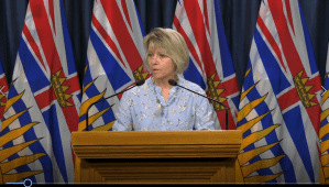 Dr. Bonnie Henry announces 55 health-care workers in B.C. are now infected with COVID-19