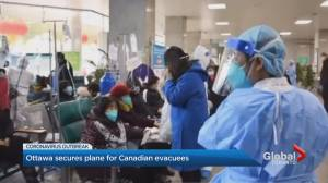 Ottawa secures plane for Canadian evacuees