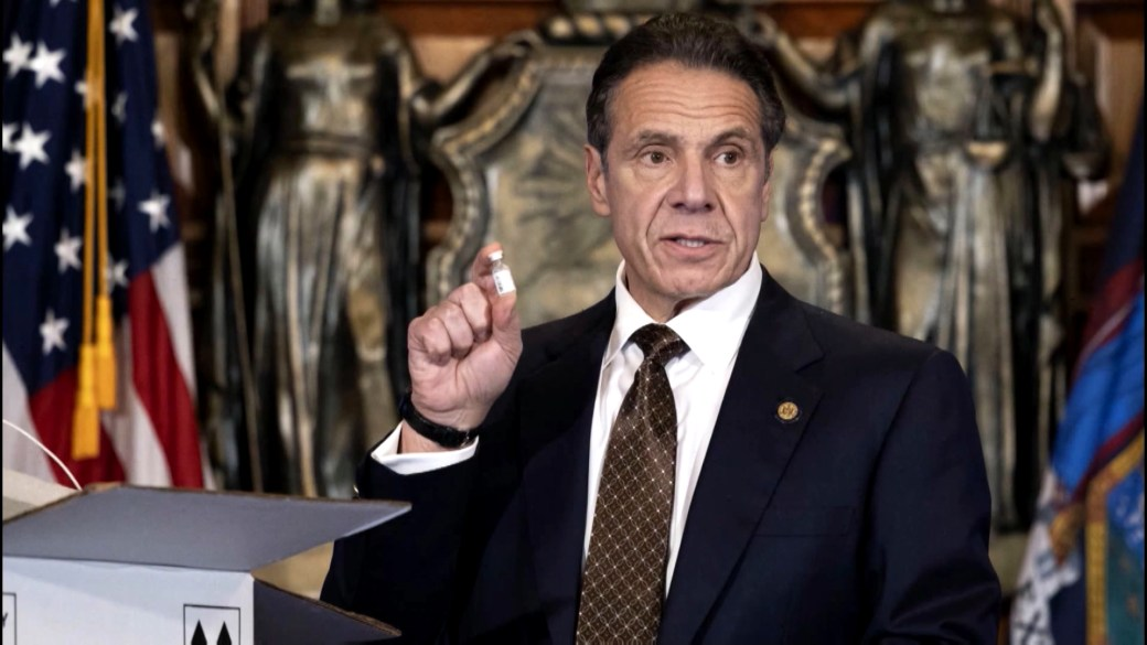 Click to play video 'New York Governor Andrew Cuomo faces more calls to step down as new allegation made'