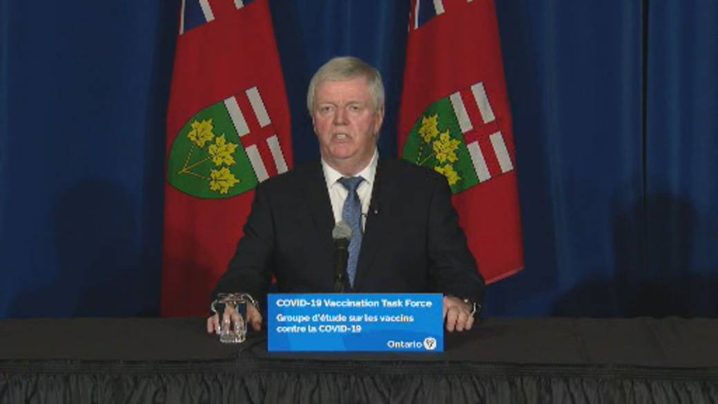 Click to play video 'Coronavirus: Ontario to complete long-term care home vaccinations in high-risk zones in upcoming weeks'