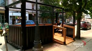 N.B. restaurant builds new kind of sidewalk amid COVID-19