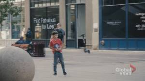 Calgary vlogger hopes 'lost child' social experiment raises awareness