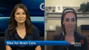 Bike for Brain Care 2021 raising money to reduce wait times (04:47)