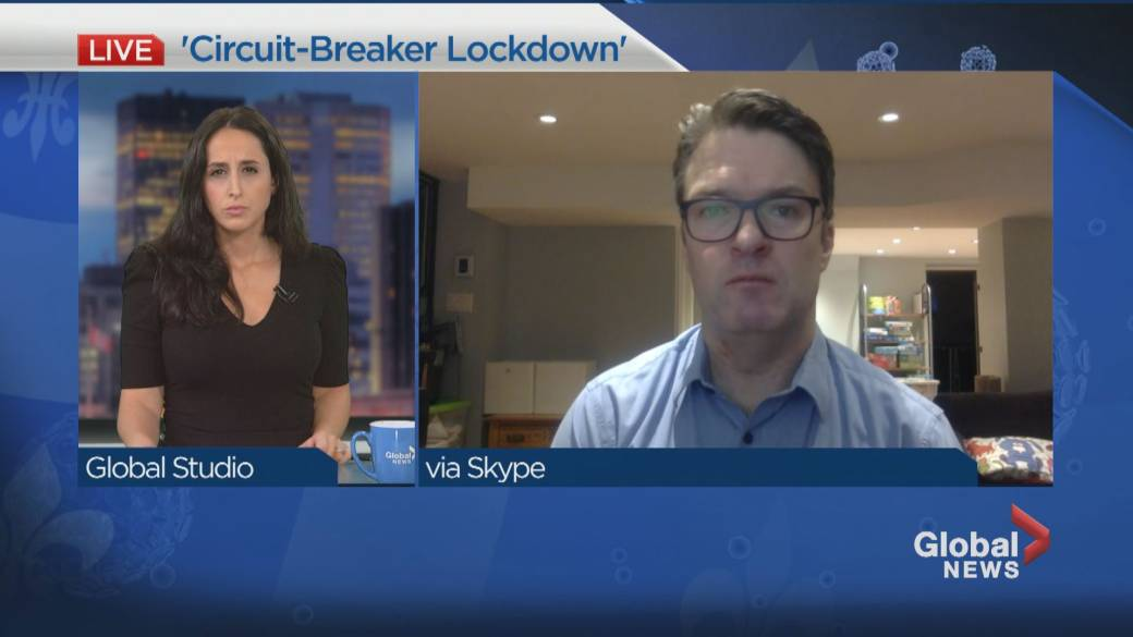 Click to play video 'Should Quebec Impose a 'circuit-breaker lockdown''