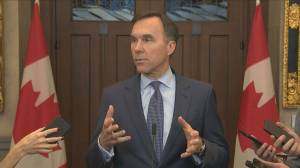 COVID-19: Morneau declines to say whether budget will be delayed over virus fears (00:36)