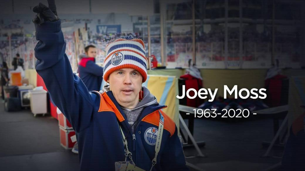 Click to play video 'Edmonton sports legend Joey Moss dies at 57'