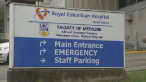 Hospital administrator and family member jump B.C. COVID-19 vaccine queue (01:54)