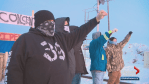 Wet'suwet'en solidarity CN blockade met with counter-protest in Edmonton