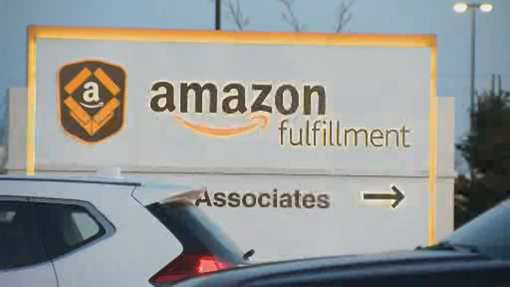 Click to play video: 'Amazon to appeal temporary closure of Brampton location due to COVID-19 outbreak'