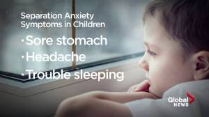 Anxiety rates doubled in young children over the pandemic (01:30)