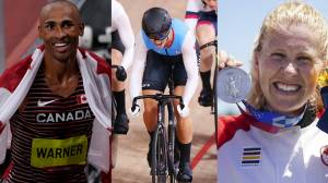 Tokyo Olympics: Damian Warner wins gold for Canada in decathlon (01:51)