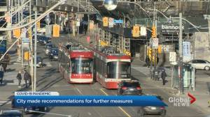 Mayor says Ontario 'best poised' to implement further COVID-19 measures in Toronto (01:43)
