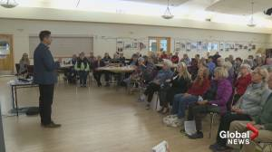 A packed house at an Okanagan senior drop-in centre as pensioners come out to learn about medical cannabis