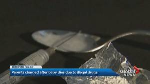 Parents charged after toddler dies from ingesting fentanyl, heroin and cocaine: Toronto police (01:37)