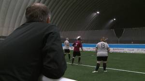 Pickering Soccer Club helps visually impaired play the sport