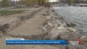 Coronavirus: Toronto Islands residents struggle with resources, flooding concerns