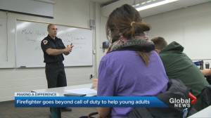 GTA firefighter helping youth find purpose in life through Inner Fire Academy
