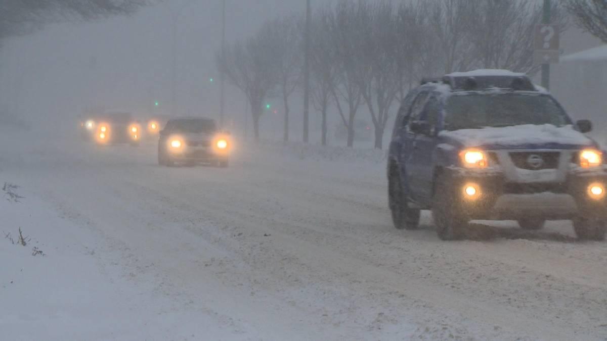 Click to play video '2nd wintry blast hits Saskatoon'