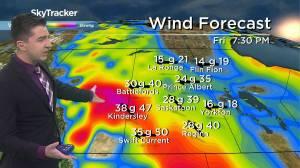 Sunny, but windy: May 6 Saskatchewan weather outlook (02:34)