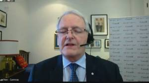 Garneau says Ukrainian Airlines forensic report expected in a matter of weeks (01:43)