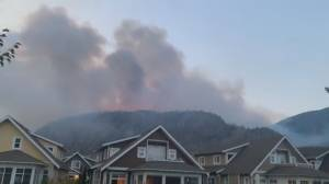 State of emergency declared in B.C.; wildfire explodes in wine country (02:39)