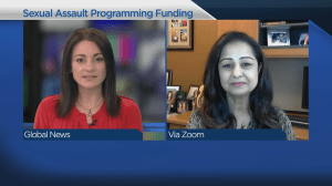 Funding to support sexual assault programming in B.C. (03:50)