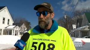 Replacement workers brought in as Fredericton outside workers remain locked out