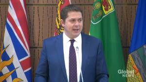 Scheer sends message to Trudeau, says Canadians are counting on Conservative caucus