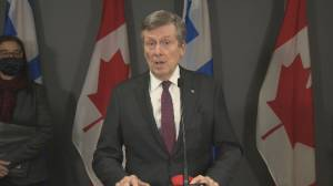 Coronavirus: More restrictions need to be implemented in Toronto, Mayor says (00:59)