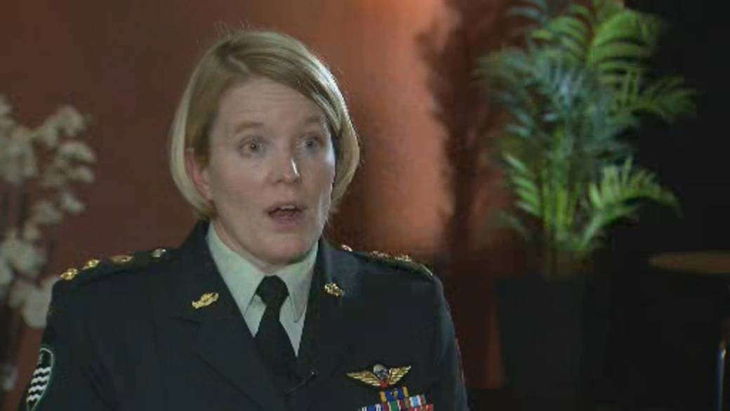 Click to play video: 'Top officer speaks about sexual misconduct in military'