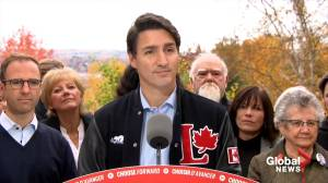 Federal Election 2019: Trudeau asked if he intends to 'scare people' to vote Liberal