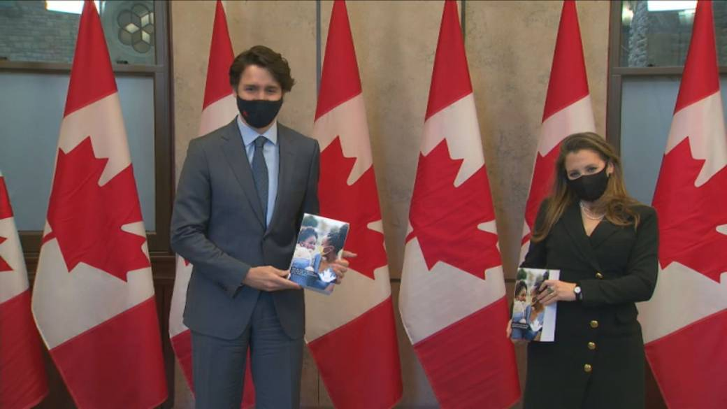 Click to play video: 'Budget 2021 widely seen as pre-election platform'