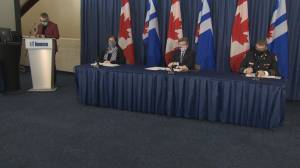 Toronto's top doctor says reopening not in the cards for the city due to COVID-19 variants (02:35)