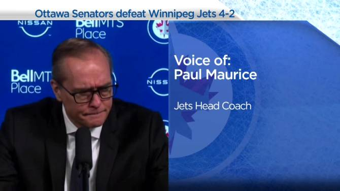 Click to play video: RAW: Winnipeg Jets Paul Maurice Interview – Apr. 12