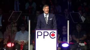 PPC leader Maxime Bernier launches party's national campaign