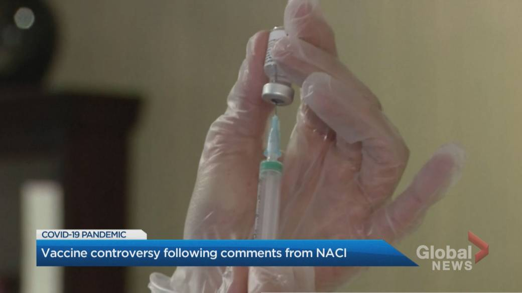 Click to play video: 'NACI's mixed messaging on 'preferred' COVID-19 vaccine sparks confusion'