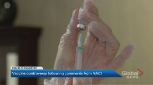 NACI's mixed messaging on 'preferred' COVID-19 vaccine sparks confusion (02:07)