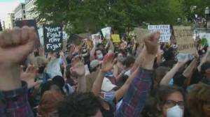 George Floyd protests: Demonstrators gather at Washington D.C. for third day