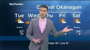 Kelowna Weather Forecast: September 20 (03:29)