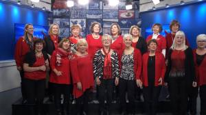 The Greater Kingston Chorus visits Global News Morning