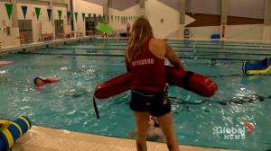Pools in Alberta struggling to fill lifeguard and swim instructor positions (01:37)