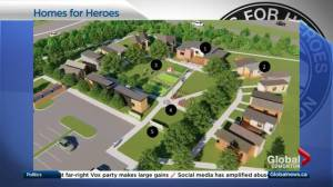 Homes for Heroes plans 2nd tiny village for Edmonton