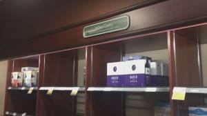 Metro Vancouver liquor store shelves picked clean (00:49)