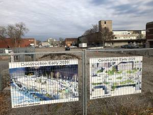 Site preparation begins for Louis Street Urban Park in downtown Peterborough (01:58)