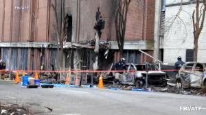 Nashville explosion: Suspect's girlfriend told police he was building explosives in 2019 (01:45)